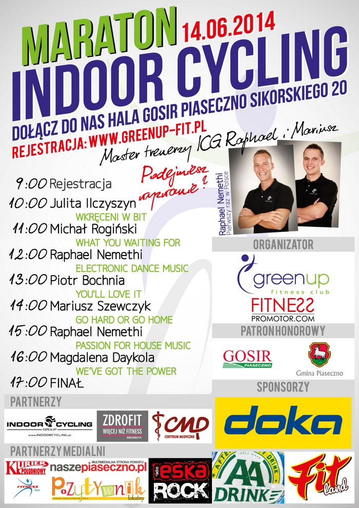 MARATON INDOOR CYCLING PIASECZNO