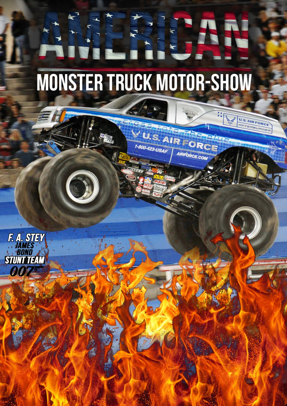 American Monster Truck Motor Show w Piasecznie