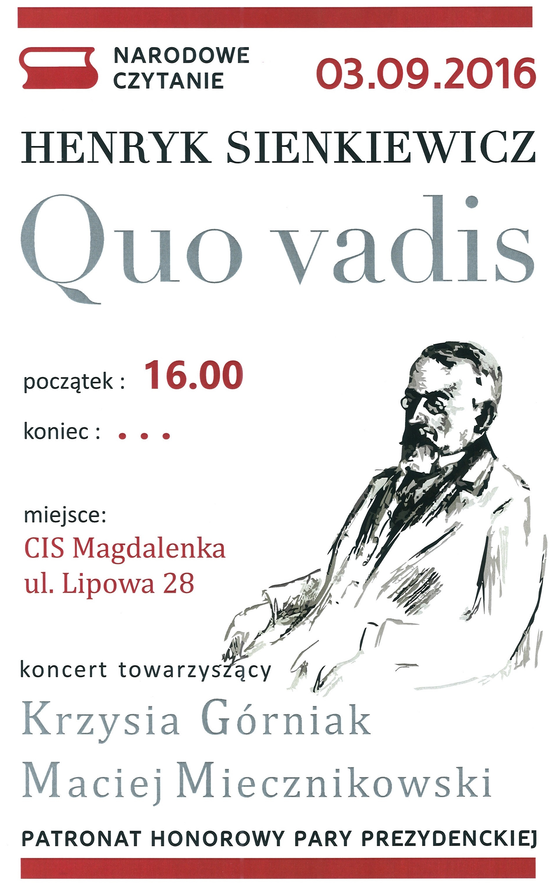 QUO VADIS W MAGDALENCE