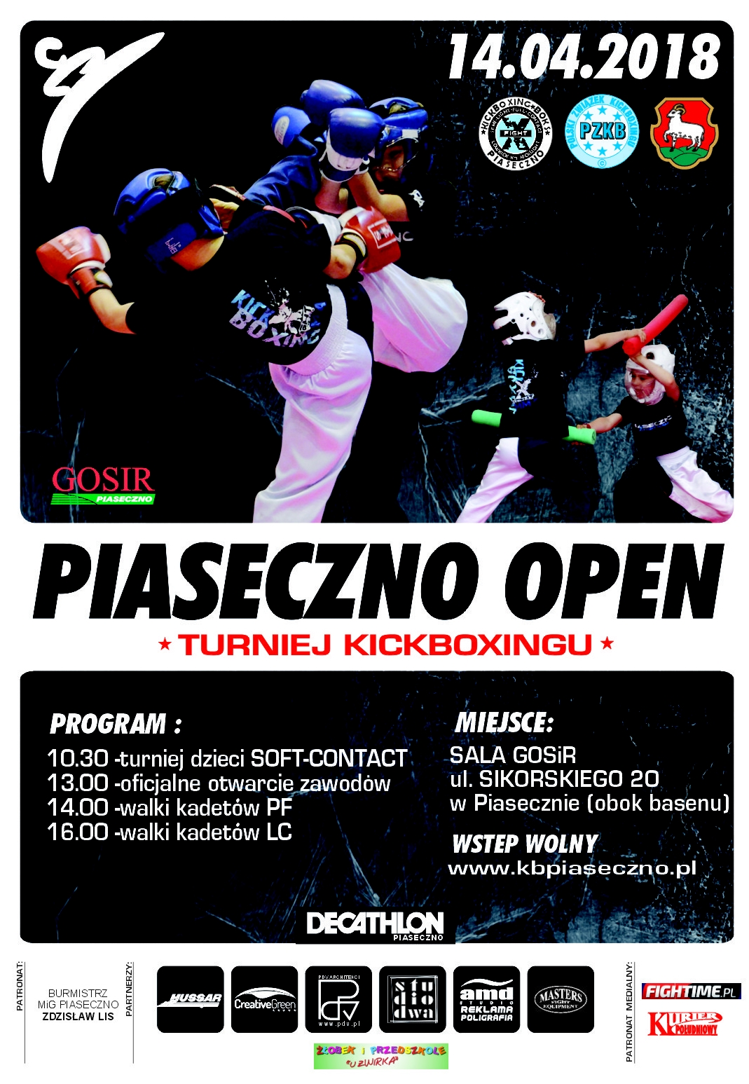 PIASECZNO OPEN VI W POINFIGHTING I LIGHT CONTACT ORAZ SOFT CONTACT